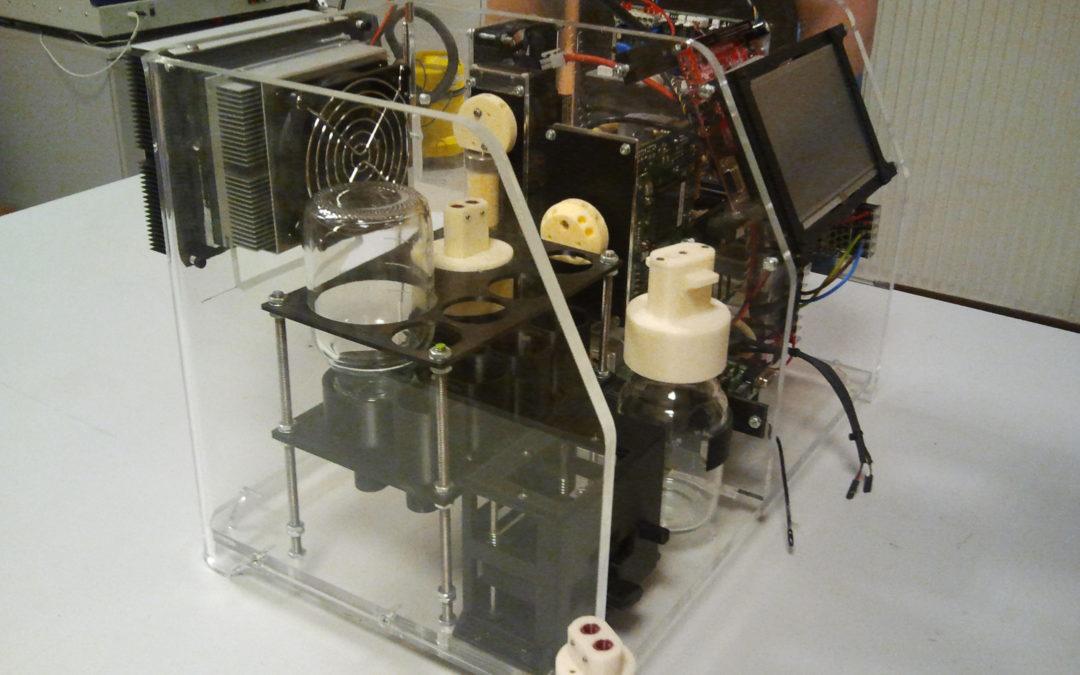 Automated sample preparation for in-situ detection of legionella